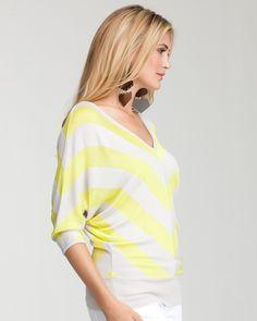 Chevron stripe sweater