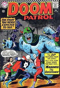 COMIC doom patrol 109 #comic #cover #art