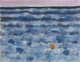 Milton Avery - SMALL FIGURES IN A BIG SEA, 1959,... on MutualArt.com
