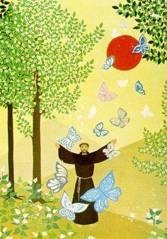 Beto Coelho: São Francisco na arte naif « Franciscanos.org.br                                                                                                                                                                                 Mais