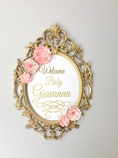 Deco Baroque, Molduras Vintage, Sweet 16 Decorations, Wedding Decorations, Nursery Frames, Vintage Photo Frames, Vintage Mirrors, Quinceanera Themes, Ikea Frames