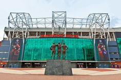 manchester england - july 6 old trafford stadium is home to manchester united one of the wealthiest and most widely supported football teams in the world. Manchester United Stadium, Manchester United Old Trafford, Manchester Town Hall, Manchester United Wallpaper, Manchester England, The Smiths, Soccer Stadium, Football Stadiums, College Basketball