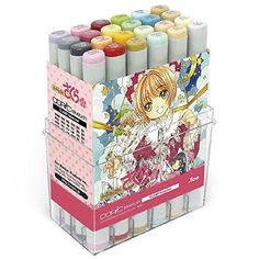 Too Copic Sketch CLAMP Selection Set Card Captor Sakura Japan New 24 Colors F/S