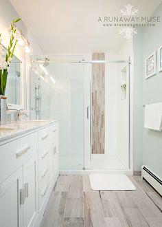 serene and airy basement bathroom