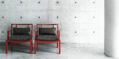 Gray armchair by Living Divani