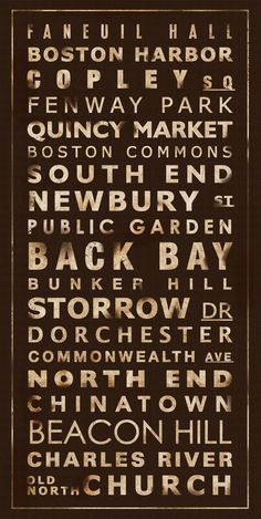 Transit Boston I Brown