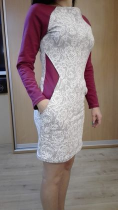 High Neck Dress, Sewing, Formal Dresses, Fashion, Dress Skirt, Trousers, Dresses For Formal, Moda, Needlework