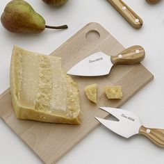 3 Cheese Knives by Lamami | MONOQI