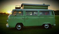VW Bay Windown Campervan / T2 Devon 1977