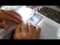 Como fazer toalha fralda dupla - YouTube