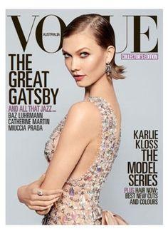 Karlie Kloss for VOGUE Australia.