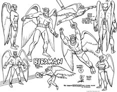 Saturday Morning Cartoon Super-Heroes - Birdman