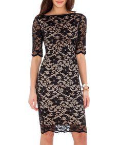 Black lace dress Sale - Goddiva Sale