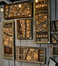 15 Crafty Wood Slice Projects You'll Want For Your Home is part of diy-home-decor - Make interesting and useful crafts out of wooden slices They take little efforts to make but brings a significant impact into your home! Wood Slice Crafts, Wood Crafts, Rustic Crafts, Recycled Crafts, Wooden Art, Wood Wall Art, Art On Wood, Diy Wood Projects, Woodworking Projects