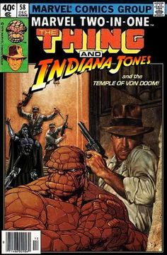 Indiana Jones meets The Thing