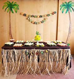 Hawaiian Theme Boy Party :-)