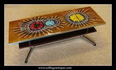 OMG am on a roll with this Danish tiled coffee table mmmmm. Tiled Coffee Table, Retro Coffee Tables, Vintage Coffee, Vintage Vibes, Retro Vintage, Tile Tables, Mid-century Modern, Design Art, Chrome