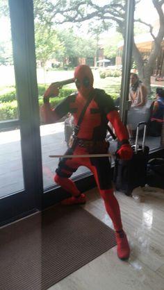 2015 A Kon, Deadpool, Superhero, Fictional Characters, Fantasy Characters