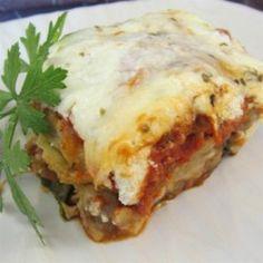 Jorges Pasta-less Eggplant Lasagna - Allrecipes.com
