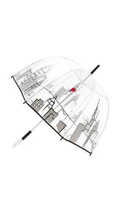 Felix Rey Cityscape Bubble Umbrella