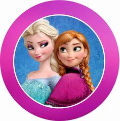 FROZEN Anna & Elsa Tin Topper