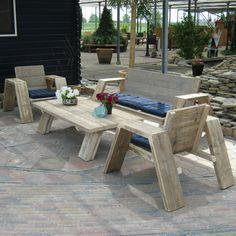 Steigerhout Set 'Jutter'