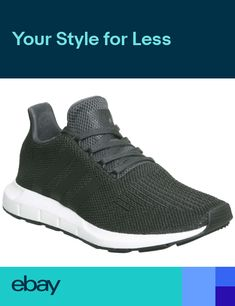 973d6774e987c Mens Adidas Swift Run Trainers Carbon Trainers Shoes