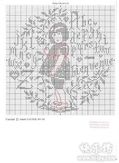 Petite Fille d'Avril Créatrice Isabelle Vautier