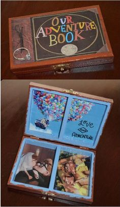DIY Ring Box, UP Movie, UP theme, UP wedding idea, Pixar, Wedding Alternative, Our Adventure Book, Love & Adventure. Made it Myself! #LoveMyAdventure