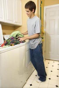 smelly washing machine drain hose