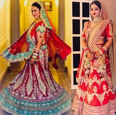 Real Brides and their Dazzling Bridal Lehengas