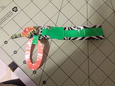 Duct Tape Keychain- this looks like something I would make !!