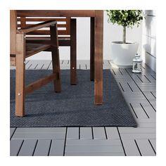 """MORUM Rug, flatwoven - indoor/outdoor dark gray, 5 ' 3 """"x7 ' 7 """" - IKEA"""