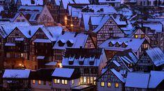 biosphoto alamy | Winter in Schiltach, Baden-Württemberg, Deutschland (© MATTES Rene ...