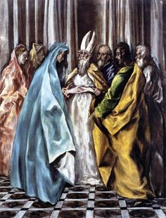 The Marriage of the Virgin, 1600- El Greco - WikiArt.org