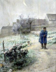 November, Carl Larsson (1882) | by coolcanadagoose~ Gothenberg Art Museum