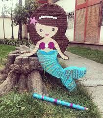 Little Mermaid Parties, The Little Mermaid, 5th Birthday, Birthday Parties, Theme Parties, Mermaid Pinata, Mermaid Birthday Decorations, Ariel, Ideas Para Fiestas