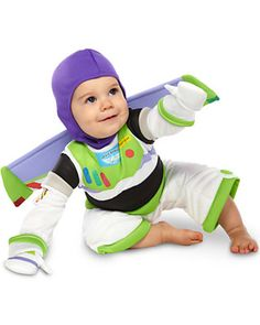 Our Favorite Baby Halloween Costumes: Toy Story Buzz Lightyear Costume (via Parents.com)