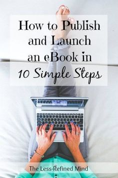 So, you've written an ebook and now you want to launch it in the Kindle store - but how? This comprehensive guide will teach you how to publish an ebook. Writing A Book, Writing Tips, Writing Prompts, Kindle, Self Publishing, Amazon Publishing, Creative Writing, Making Ideas, Online Business