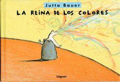 """""""…Un libro de doble lectura: La historia de la reina sin color, que tendría que descubrir por sí misma los colores para ser feliz. Además, un libro sobre el descubrimiento de los colores, sobre el placer de dibujar libremente, sobre la relación entre los colores básicos y sus mezclas"""" (Die Zeit)."""