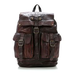 Campomaggi Backback Leather 38 cm C06005VL-1701