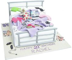 Messy Bedroom Birthday Cake