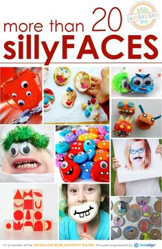 In Celebration of Smiles – Silly Activities for Kids of All Ages