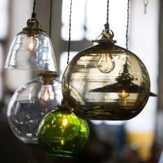 Swedish design is allways right! Glasslighting from Svensson