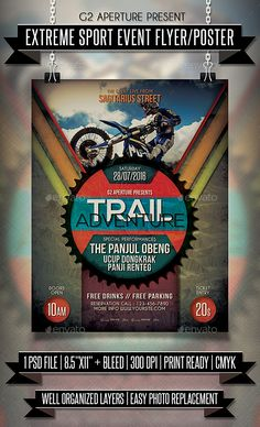 Extreme Sport Event Flyer / Poster