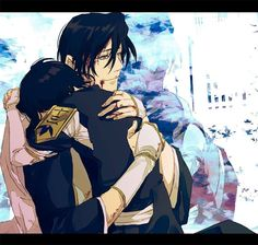 Byakuya and Rukia .. awwww :) They're probably one of my favorite sibling duos ever.
