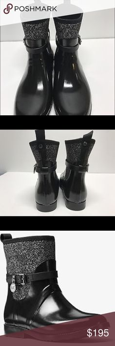 Michael Kors Bootie Michael Kors Charm stretch rain boot rubber Michael Kors Shoes Winter & Rain Boots