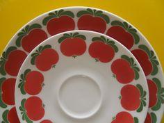 vintage plate & saucer