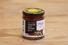 Ginger Hot Pepper Jelly von Harty's Pepper Jelly Company: 100% natürliche Zutaten, vegetarisch, glutenfrei, keine Zugabe von Salz, keine künstlichen Aroma- und Farbstoffe