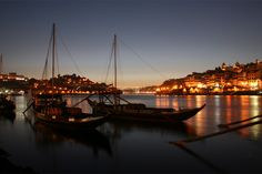 [- Porto no luscofusco -] Ribeira do Douro, Vila Nova de Gaia (Portugal)